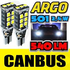 2X 15SMD W16W reverse light led W5W blanc xenon canbus vw passat B7 2010-2014