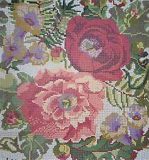 Ehrman Rosas ingleses antiguos (Marfil) J&j Seaton Tapiz Kit De Bordado-Vintage