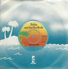 """EDDIE & THE HOT RODS - QUIT THIS TOWN - UK 1977 ISSUE 7"""" VINYL - WIP 6411"""