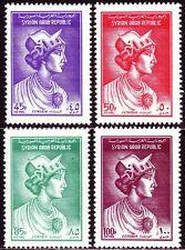 Syrien Syria 1962 ** Mi.814/17 Zenobia Fürstin Ruler