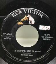 The Three Suns The Beautiful Girl Of Viena 45 Rpm Record 47-6461