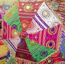10-Pcs Of Wholesale Indian Handmade Parasol Outdoor Sun-Shade Cotton Umbrellas