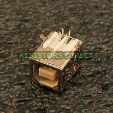 2pcs USB Type B Female Right Angle PCB Mount Socket Connector Replacement X33