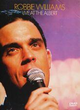Robbie Williams Live At The Albert DVD UK 2001 All Regions