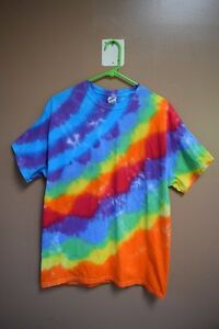 Taste The Rainbow!!! Tie-Dye shirt- Adult Large.