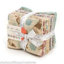 """MODA Fat Quarter Bundle ~ ONCE UPON A CHICKEN ~ by Mary Jane 19 - 18"""" x 22"""""""