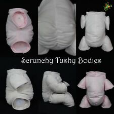 "NON-FRAY ""DOE SUEDE""  **SCRUNCHY TUSHY BODIES** VARIOUS COLOURS, LIMBS & SIZES"