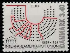 Denemarken postfris 1989 MNH 954 - IPU 100 Jaar