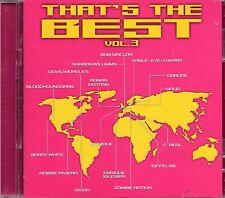 Thats The Best Vol 3 (2 x CD) Sonique/Ronan Keating/Enrique Iglesias/Eiffel 65