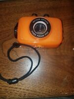 Intova Duo Waterproof HD POV Sports Video Action Camera, Orange w/ 4gb