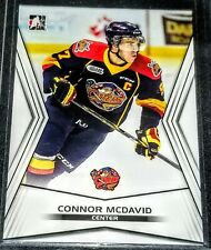 2015 Connor McDavid Leaf In the Game Young Stars Rookie # 01 Erie Otters