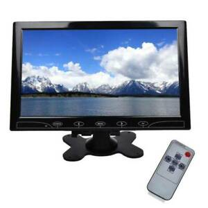 "10"" TFT LCD HD CCTV Monitor Screen 1024*600 Display HDMI VGA AV Input 16:9 New"