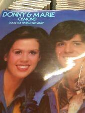 DONNY & MARIE OSMOND - Make The World Go Away - 1975 UK 10-track LP