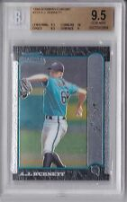 1999 Bowman Chrome A.J. Burnett Rookie Graded BGS 9.5