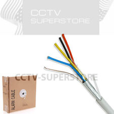 Security Wire Burglar Alarm 22/4 500FT Solid Shielded Control Speaker Cable