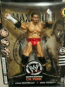 WWE Wrestling MAXIMUM Aggression 12 Inch Series 1 Action Figure CM Punk