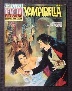 1973 VAMPIRELLA Warren Magazine #22 FVF 7.0