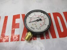 "Hardi Crop Sprayer Pressure Gauge 1/4""BSP 0-6 Bar Common Sprayers Farm Agri"