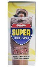 Marshall Pet Ferret Hamster Guinea Pig Rat Super Thru Way Tunnel Tube 15 feet