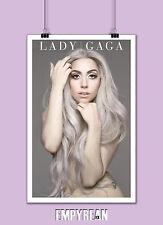 LADY GAGA Poster Pop Music Art Print 11 x 17 FREE FAST SHIPPING