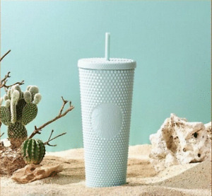 STARBUCKS KOREA 2021 Mint Studded Cold Cup 710ml + DHL