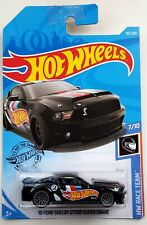 Hot Wheels '10 Ford SHELBY GT500 Super Snake NEW BLACK EDITION RaceTeam Rare
