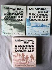 """""""MÉMORIAL DE LA SECONDE GUERRE MONDIALE"""" 3 VOL. / READER'S DIGEST"""