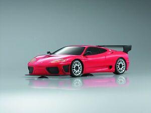 Kyosho Mini-Z Karosserie-Set MR-02 MR-03 Ferrari 360 GTC Rot(W-RM)Neu