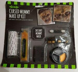 Halloween Mummy Make Up Kit face paint teeth bandage kit