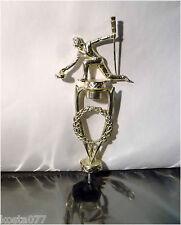 Vintage Women Curling Trophy Silver Part, R. S. OWENS