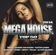 Mega House top 50 2014 (Mercer, twoloud, AUDIEN,...) 2 CD NEUF