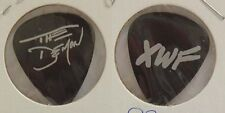KISS - GENE SIMMONS FIRST PROMOTIONAL GUITAR PICK FOR THE XWF