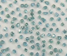Natural Loose Diamond Blue Color Rough SI1 Clarity 0.5 to 0.8 MM 4.00 Ct Lot J23