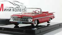 Scale car 1:43, CHEVROLET IMPALA 1959 red
