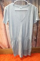 Victoria's Secret PINK Gray Small Cotton Poly Women's Casual Dress