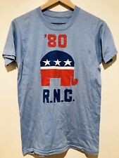 New listing Republican National Convention 1980 Rnc Reagan Bush Vintage T-Shirt Nixon Trump