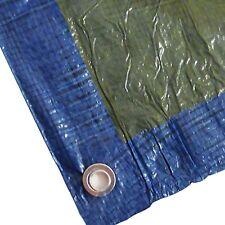 6x10m blau/grün Abdeckplane Abdeckplanen Gewebeplane �–sen UV-beständig