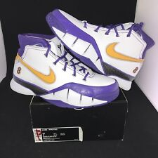 reputable site bba48 29087 NEW Nike Zoom Kobe 1 Protro Final Seconds Size 7 100% Authentic DS Lakers