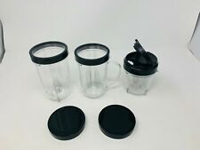 Replacement Jars and Lids for Magic Bullet MB1001B