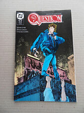 The Question 27 .  DC 1989 - FN / VF