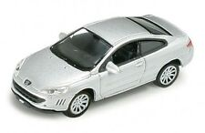 Welly 73111 PEUGEOT COUPE 407 Silver 1:87 suberb detail