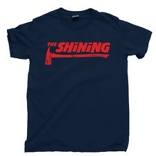 The Shining Axe T Shirt Stanley Kubrick Overlook Hotel Redrum Heres Johnny Tee