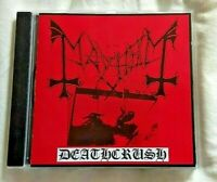 RARE - MAYHEM - DEATHCRUSH - CD 1993 DSP ANTI-MOSH 003 Red-misprint Cover