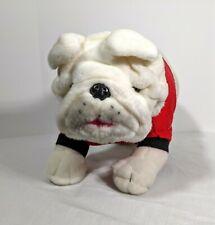 Old English Bulldog Dog Plush Stuffed Toy Marine Corps Jiggs White Mascot