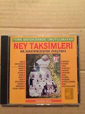 Ney Taksimleri - M.Sadreddin Ozcimi Turkish Sufi Classical Dervish 1st Edition