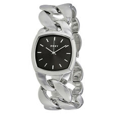 DKNY Chanin Black Dial Ladies Chain Watch NY2566