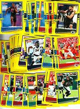 2020 DONRUSS FOOTBALL YELLOW PRESS PROOF-YOU CHOOSE-DOLLAR TREE ISSUE FREE S/H