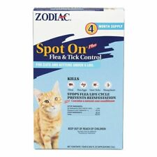 LM Zodiac Spot on Plus Flea & Tick Control for Cats & Kittens Cats under 5 lbs (