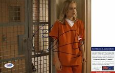 Taylor Schilling Signed 8x10 Orange Is the New Black Piper Chapman PSA/DNA
