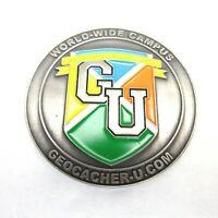 Geocacher University 2006 Geocoin New Trackable Unactivated Geocaching Coin